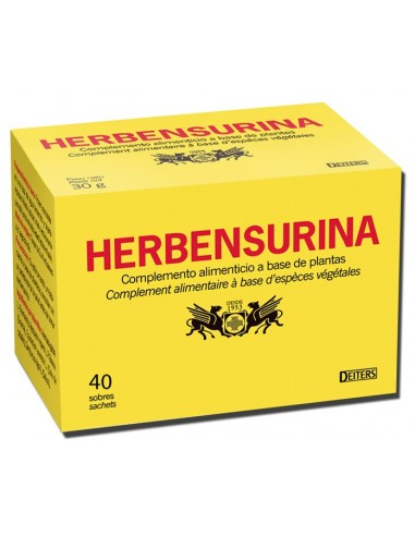 HERBENSURINA 40 FILTROS