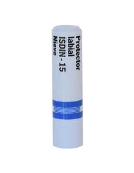 Isdin Protector Labial Nieve Spf 15 Stick 4g
