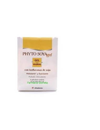 PHYTO SOYA GEL VAGINAL 8MONODOSIS X 5ML