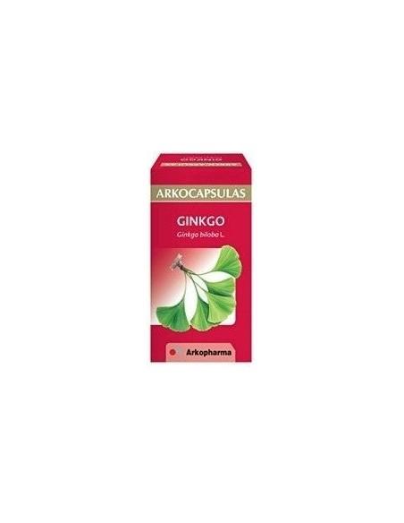 Arkocapsulas Ginkgo 180 mg 50 Capsulas