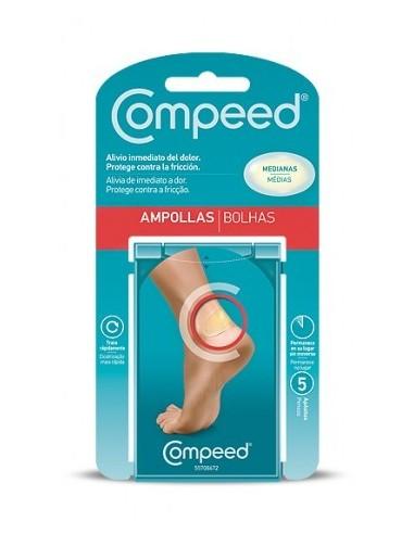 COMPEED AMPOLLAS MEDIANAS 5 APÓSITOS