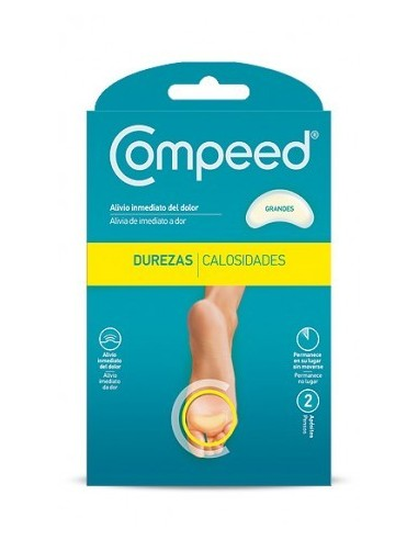 COMPEED DUREZAS GRANDES 2 APOSITOS