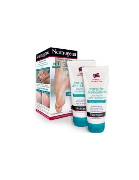 Neutrogena Crema Pies Ultra-hidratante  2unidadesx100ml