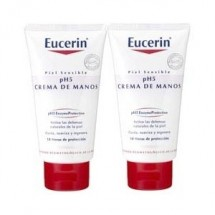 EUCERIN CREMA DE MANOS 2X75ML