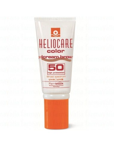 HELIOCARE GEL CREMA COLOR BROWN SPF 50 50ML