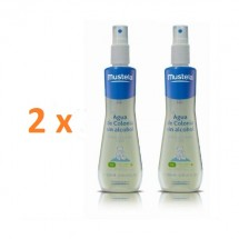 Mustela Pack Agua De Colonia Sin Alcohol 2 Unidades 200ml