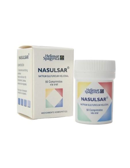 Heliosar Spagyrica Nasulsar 50 Comprimidos