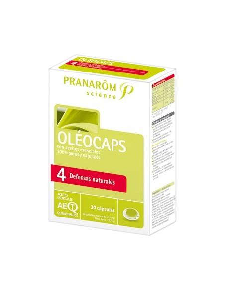 Pranarom Oléocaps 4 Defensas Naturales 30 Capsulas