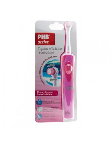 PHB ACTIVE CEPILLO ELECTRICO RECARGABLE ROSA