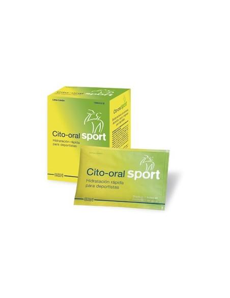 Cito Oral Sport 10 Sobres Lima Limon