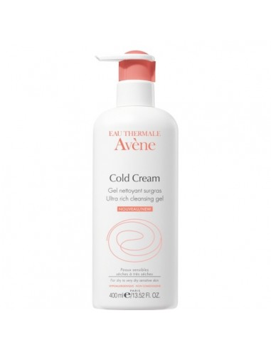 AVENE GEL LIMPIADOR AL COLD CREAM 400ML