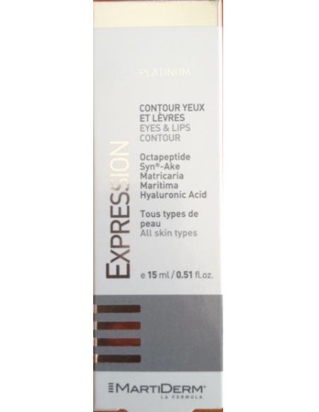Martiderm Expression Platinum Contorno de Ojos y Labios 15 mL