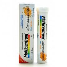 Multicentrum efervescente 20 comprimidos sabor naranja