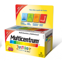 Multicentrum Junior 30 comprimidos masticables sabor a frutas