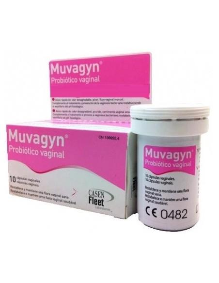 Muvagyn Probiotico Vaginal 10 Cápsulas Vaginales