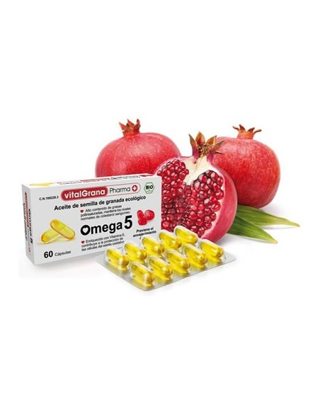 Vitalgrana Pharma Omega 5 60 Capsulas