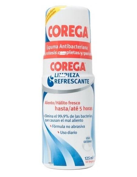 Corega Espuma Antibacteriana 125 mL