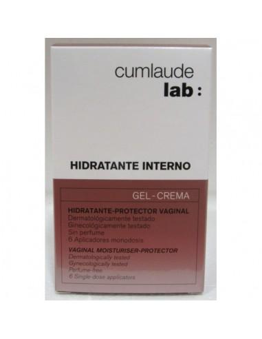 Cumlaude Hidratante Interno Gel-crema 6 Aplicadores Monodosis
