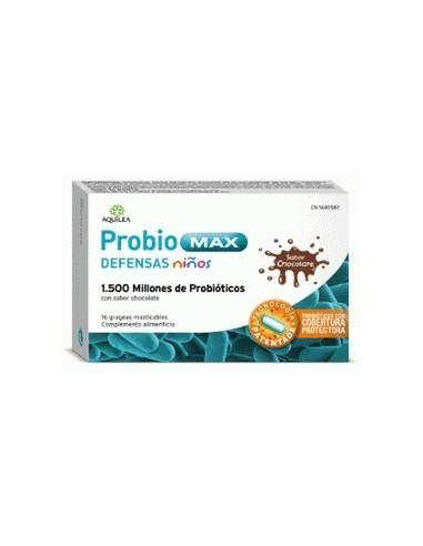 Aquilea Probiomax Defensas Niños 16 Grageas Masticables