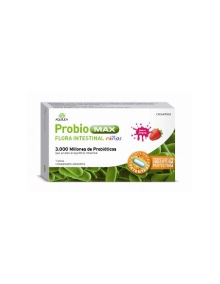 Aquilea Probiomax Flora Intestina Niños 7 Sticks