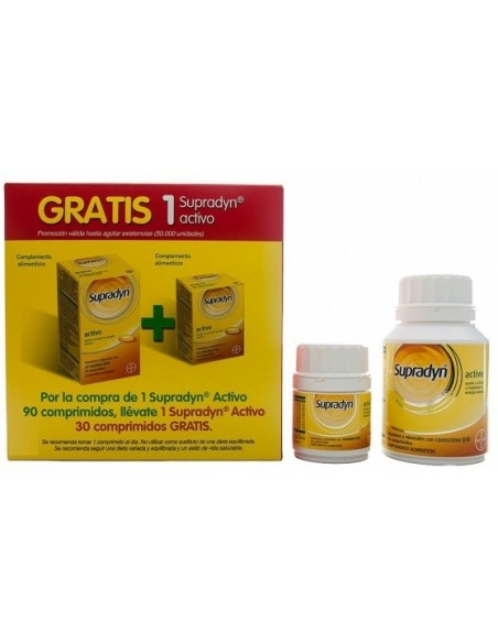Supradyn Activo PACK 120 Comprimidos