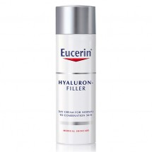 Eucerin Crema Hyaluron Filler Piel Mixta 50 mL + Agua micelar 200 mL Regalo*