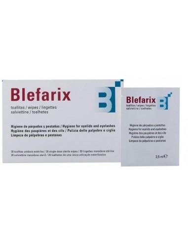Blefarix Toallitas 20 Unidades