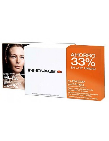 Innovage DUPLO Alisador Cutáneo 40 + 40 Comprimidos