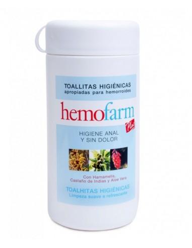 Hemofarm Plus 60 Toallitas