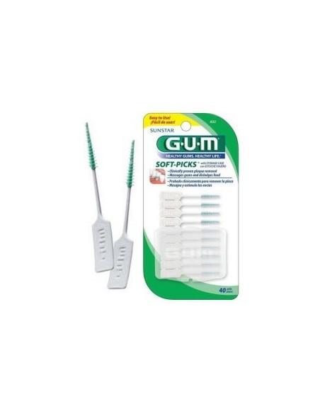Gum Soft-Picks Fluoride 40 Unidades