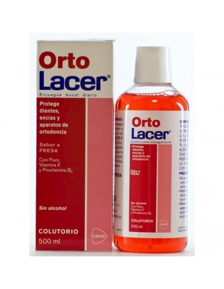 Ortolacer Colutorio Fresa 500 mL