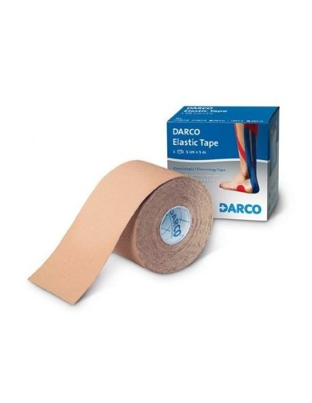 Mecron Elastic Tape Color Piel 5cm X 5m