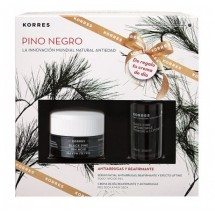 Korres Pino Negro Crema Piel Normal / Mixta 40 mL + Serum Pino Negro 15 mL