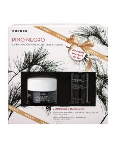 Korres Pino Negro Crema Piel Mixta 40 mL + Serum Pino Negro 15 mL