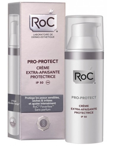Roc Pro-Protect Crema Extra Protectora Extra Reconfortante Spf 50 50 mL