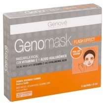 Genove Genomask Mascarilla Flash Effect 6 sobres x 8 ml