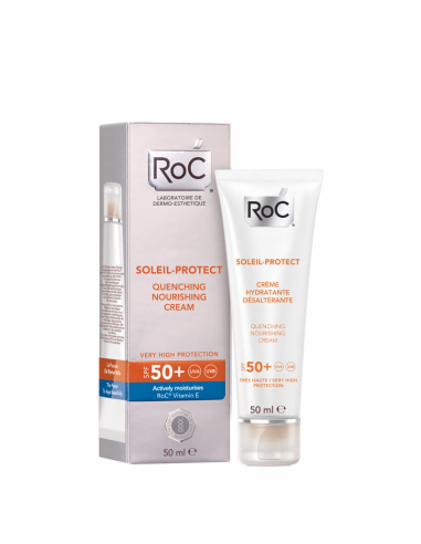 Roc Soleil-Protect Crema Nutritiva Intensa Spf 50 50 mL