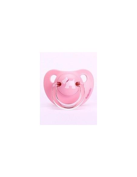 Suavinex Chupete Scottish Anatomico Latex 0-6 meses Rosa