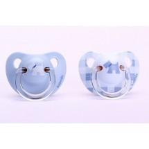 Suavinex Chupete Scottish Azul Anatomico +6 meses Latex 2 Unidades