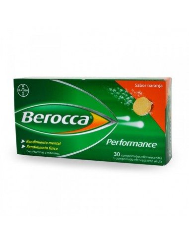 Berocca Performance 30 Comprimidos Efervescentes