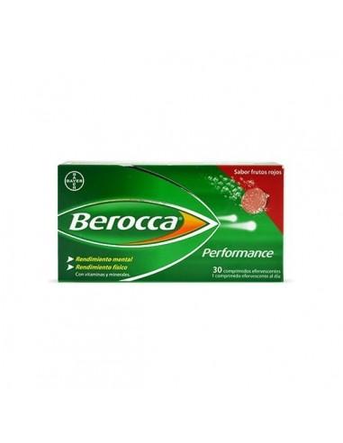 Berocca Performance 30 Comprimidos Frutos Rojos Efervescentes