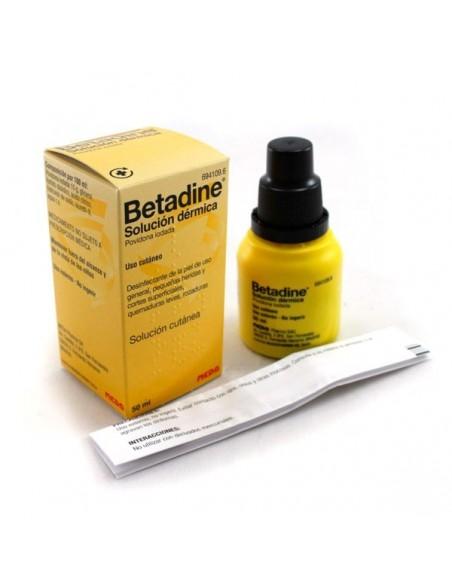 Betadine 10% Solucion Dermica 50 ml
