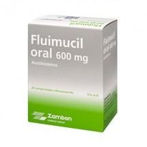 Flumil Forte 600 mg 20 Comprimidos Efervescentes