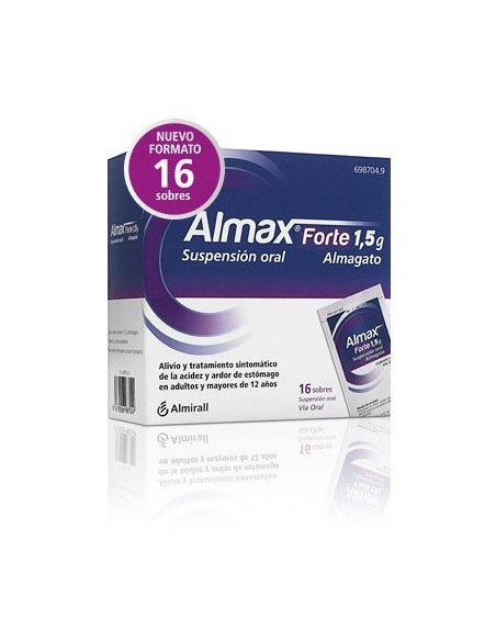 Almax Forte 1.5mg 16 Sobres