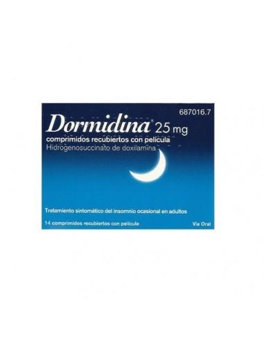 Dormidina 25   mg 14 Comp