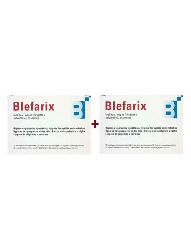 Blefarix Toallitas Duplo 20+20
