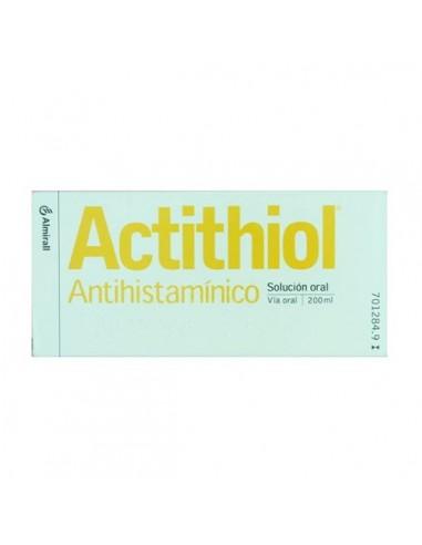 Actithiol Antihistaminico Solucion 200ml