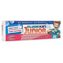 Fluor-Kin Junior Gel Fresa 75 mL