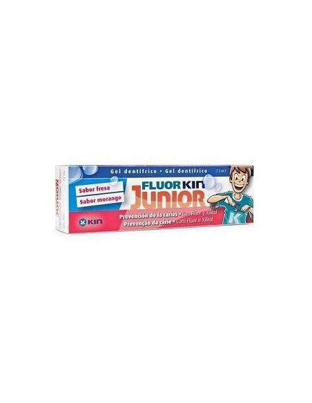Fluor-Kin Junior Gel Fresa 75 mL