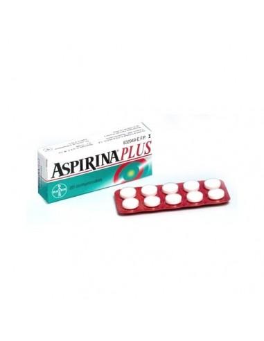 Aspirina Plus 500/50 mg 20 Comprimidos